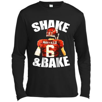 Shake And Bake  Long Sleeve Moisture Absorbing Shirt