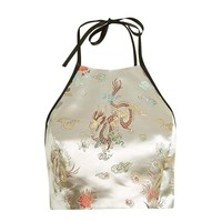 Oriental halter top by Topshop Finds | Topshop