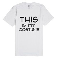 Halloween Costume tee-Unisex White T-Shirt