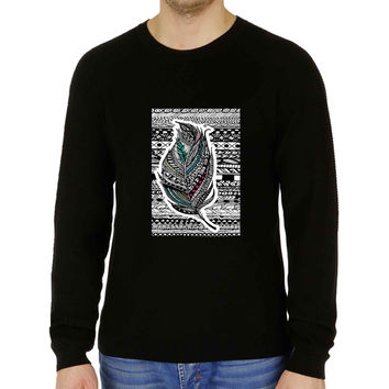 Aztec Feather - Sweater for Man and Woman, S / M / L / XL / 2XL **