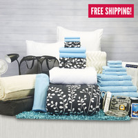 Girls Deans List Pak | Dorm Bedding and Bath | OCM.com