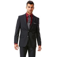 Solid Black Suit Jacket