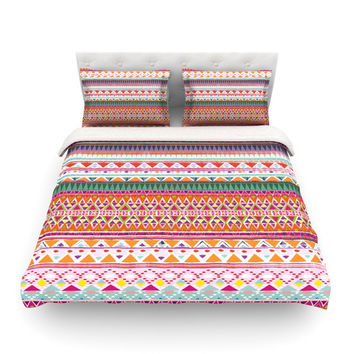 KESS InHouse Chenoa by Nika Martinez Light Cotton Duvet Cover