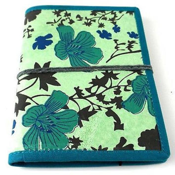 Spring Flower Journal with Blue Trim - Matr Boomie (J)