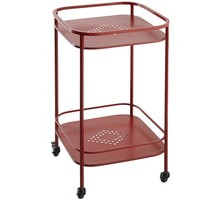 Weldon Bar Cart - Red