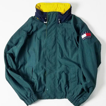Tommy Hilfiger Colorblock Lightweight Jacket Size XL
