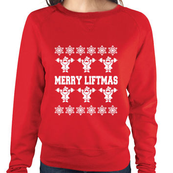 Merry Liftmass womens long sleeve Pullover