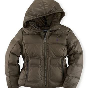Ralph Lauren Childrenswear Girls 7-16 Quilted Jacket