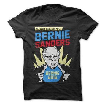 Super Hero Bernie Sanders
