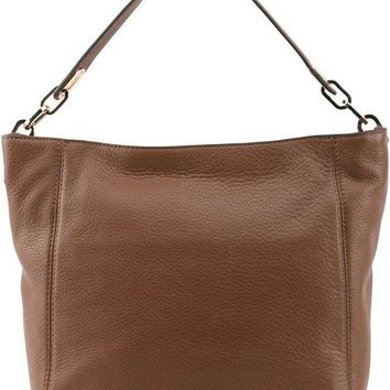 ICIKUG3 MICHAEL Michael Kors Women's Fulton Medium Slouchy Shoulder Bag
