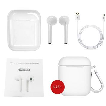 i9s mini Bluetooth Headset 5.0 Twins Earbuds Wireless Earphone i7s TWS  Headphone with charging box Microphone headset Earphones