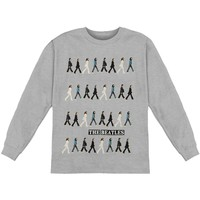 Beatles Men's  Abbey Road  Long Sleeve Heather