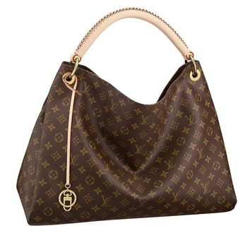 DCK4S2 Louis Vuitton Monogram Canvas Artsy MM Handbag Article:M40249 Made in France