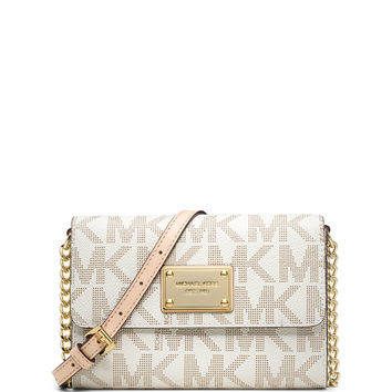 Jet Set Travel Large Phone Crossbody Bag, Vanilla - MICHAEL Michael Kors