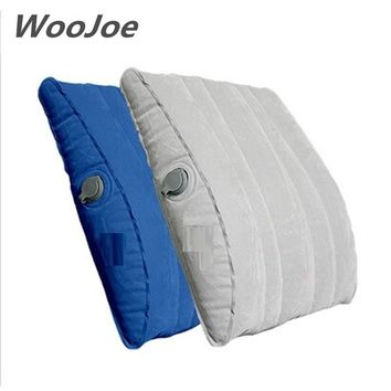 2017 professional quality brand multifunction waist support pillow inflatable seat cushion travesseiro almohada lumbar pillows