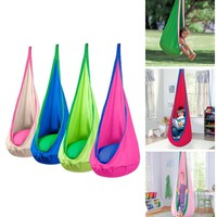 Kids Pod Hammock Hanging Reading Play Chair