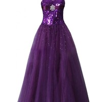 Sunvary Sexy Sequin Mermaid Mother of the Bride Prom Dresses