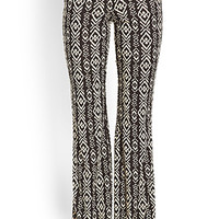 Tribal Print Bell Bottoms