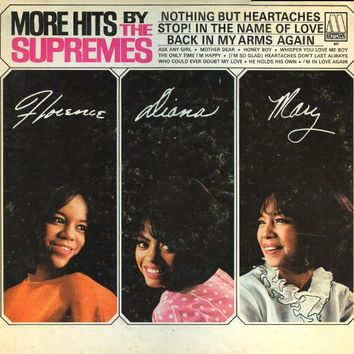 More Hits By The Supremes - The Supremes, LP (Pre-Owned)