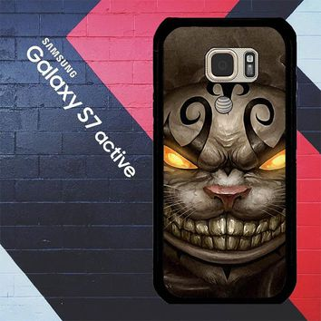 Alice Madness Returns Cheshire Cat Z0999 Samsung Galaxy S7 Active Case