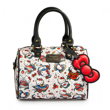 Hello Kitty Tattoo Pebble Duffle