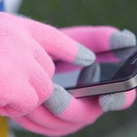 New Soft Winter Unisex Touch Screen Gloves Texting Capacitive Smartphone Knit = 1958457796