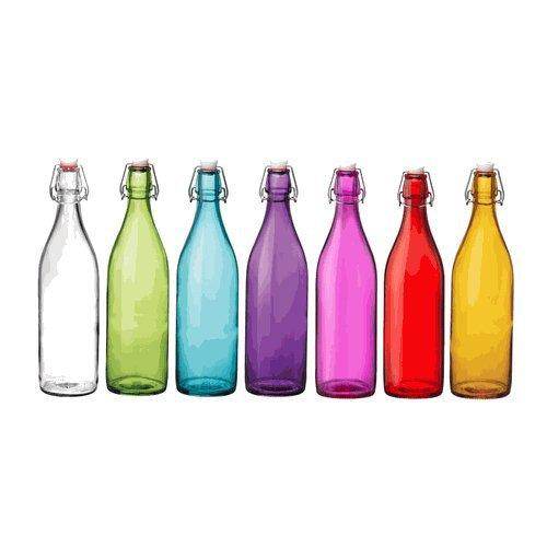 Giara Hermetic Glass Bottles By Bormioli From Organize Com