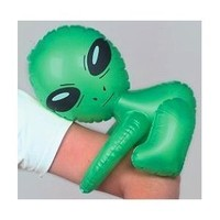 Inflatable Hugger Aliens (1 dz)