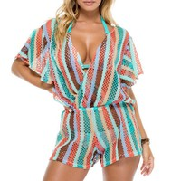 La Gloria Cubana Beach Romper Cover Up