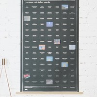 100 Places You Must Visit Before You Die Poster