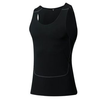 Running Vests Jogging Yel Valentine'S Day GYM Compression Tights Men's T-Shirt Sleeveless Sport Suit Fitness Women Top Quickly Dry Couple  KO_11_1