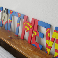 Superman Letter Art