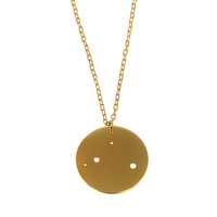 Libra Pendant - Gold Plated