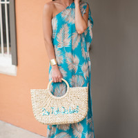 Destination Dreamy Maxi Dress, Turquoise