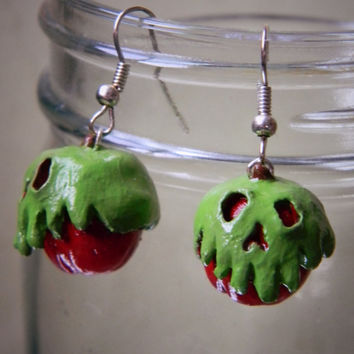 Poison Apple Earrings Snow White