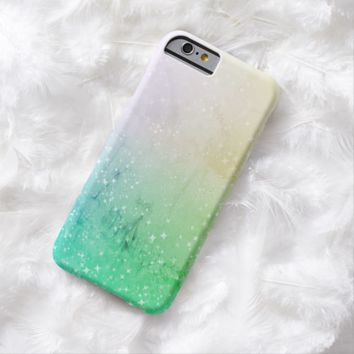 Claire Blossom Gradation blue Barely There iPhone 6 Case