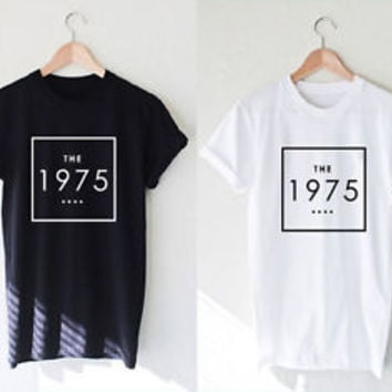 The 1975 Shirt Rock Band Music T-Shirt Unisex Clothing Size S,M,L,XL #2