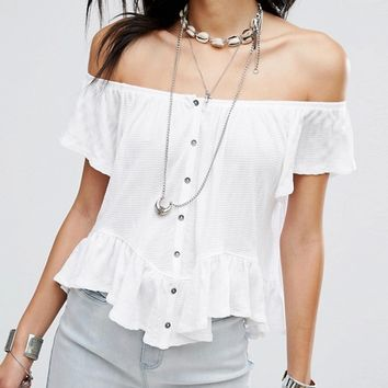 Free People Mint Julep Tee at asos.com