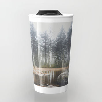 Moody mornings Travel Mug by happymelvin
