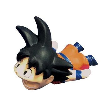 High quality Japanese cartoon anime 7 dragon ball z guko cable bite phone cable protect toy 3~4cm Begeta bite protector doll d0
