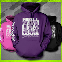 1D NAMES I LOVE ONE DIRECTION TEE YOUTH TEEN LIAM HARRY NIALL ZAYNE HOODIE
