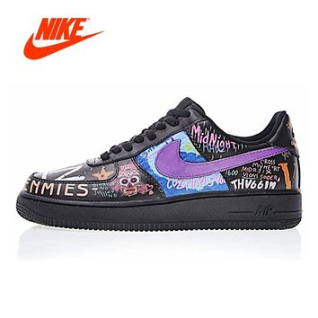 Original New Arrival Authentic Nike Air Force 1 Low Men's Walking Shoes Sport Outdoor Sneakers Good Quality 923092-100