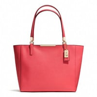 MADISON EAST/WEST TOTE IN SAFFIANO LEATHER