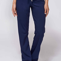 women's livingston basic scrub pants - navy