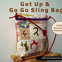 Get Up And Go Go Sling Bag - Pdf Ba.. on Luulla