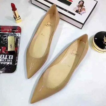 CL Christian Louboutin Women Flats Shoes