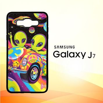 Lisa Frank X5604 Samsung Galaxy J7 Edition 2015 SM-J700 Case