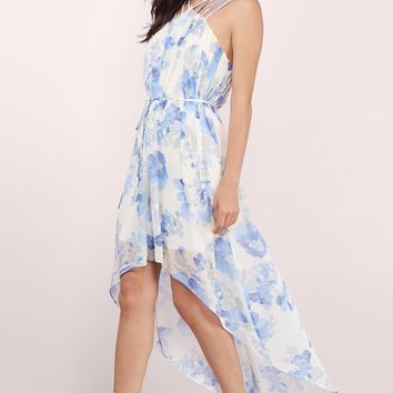 Love Bloom Floral Maxi Dress