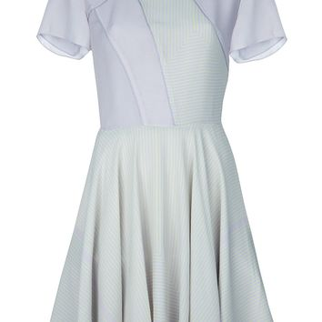 Proenza Schouler Bi-Colour Skater Dress