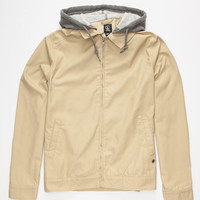 Volcom Barnett Mens Jacket Khaki  In Sizes